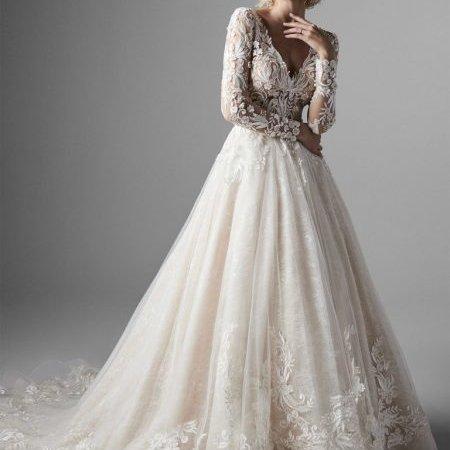 Spanske vencanice #635 - la perla vencanice, slike, slika, uske, dugacke, haljine, za vencanje, svadbu, maturu, bidermajer, srbija, veliki izbor, budite jedinstveni