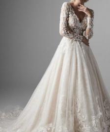 Spanske vencanice #635la perla vencanice, slike, slika, uske, dugacke, haljine, za vencanje, svadbu, maturu, bidermajer, srbija, veliki izbor, budite jedinstveni